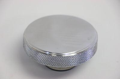 Polished Billet Aluminum Radiator Cap 16 lb. Knurled Fits Original & Aftermarket