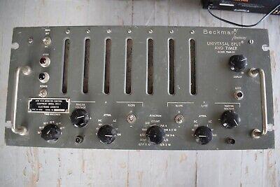 Rare Vintage Beckman Universal Eput And Timer Model 7360-20 Countertimer