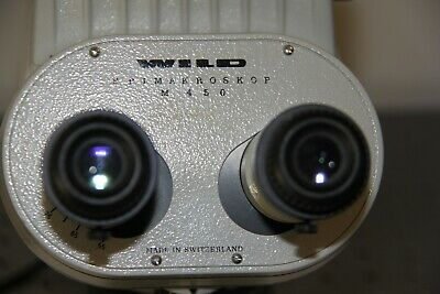 Wild Leica M450 Epimakroskope  Swiss Made