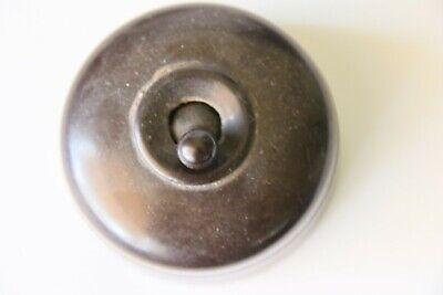 Vintage Bakelite Light Switch | Crabtree |  c1930