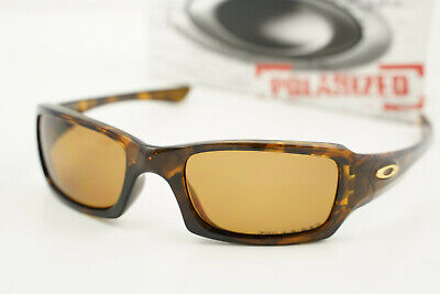 Oakley FIVES 3.0 SQUARED 12-858 Brown Tortoise/Polarized Brown 54-19 w/Box