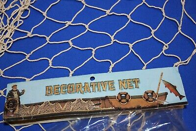 (1) Decorative Fishing Net for Arts & Crafts Projects, 5' x 10',  NT-1 - Fish Art Projects