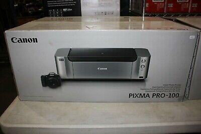 New Canon PIXMA PRO-100 Wireless Professional Inkjet Photo w Inks Factory Sealed