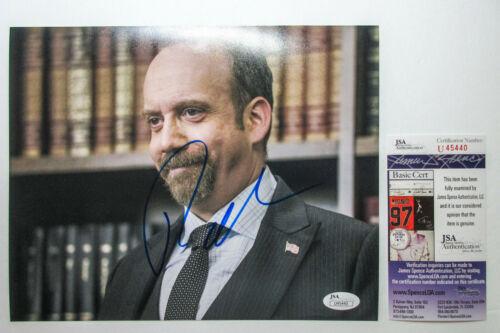 Paul Giamatti Signed Autographed 'Billions' 8x10 Photo PROOF JSA A Sideways