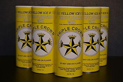 Triple Crown Table Shuffleboard Slow Speed Sampler Powder Wax 6 Pack