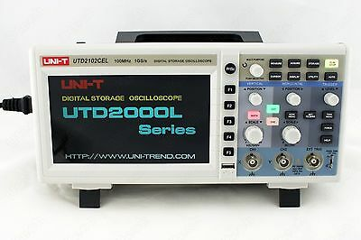 Uni-t Utd2102cex 100mhz Digital Storage Oscilloscope 1g Sas Usb Many Languages