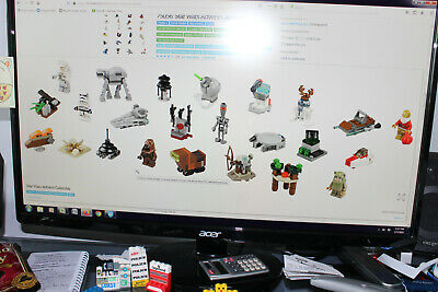 Lego Star Wars Advent Calendar 75097- incomplete - droid - Naboo