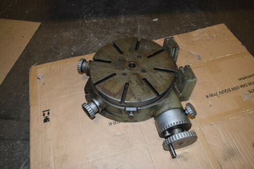 "12"" Sincor Rotary Table Horizontal & Vertical"