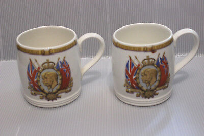 King George V &  Queen Mary Siver Jubilee Mugs