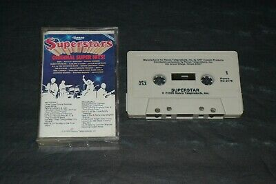 Superstars~Original Super Hits~Donna Summer, Abba~Cassette Tape~FAST SHIPPING!!