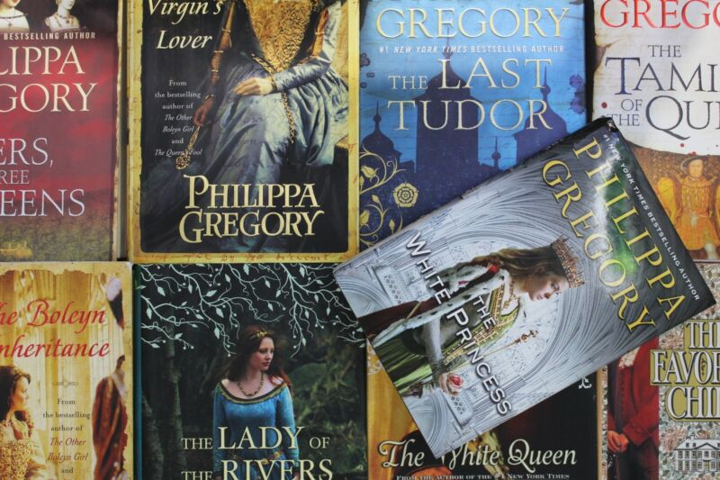 Lot of 5 Philippa Gregory Fantasy Hardcover Books MIX