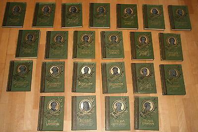 23 verschidenen Bände der Illustrierten Klassiker - Ausgabe , Minerva