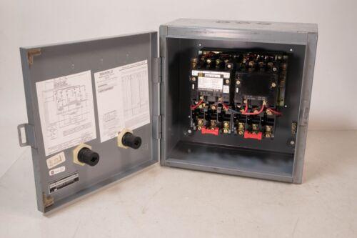 SQUARE D 8810-SCO-3 X1010 MAGNETIC MOTOR STARTER NEMA SIZE 1 240V COIL 600V MAX