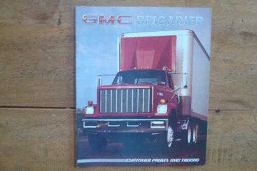 1985 GMC Brigadier Trucks Brochure
