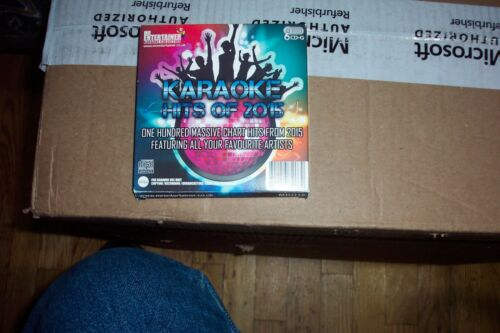 mr entertainer hits of the 2015 6 disc set used very good