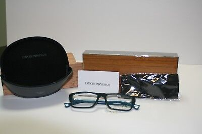 EMPORIO ARMANI EYEGLASSES WITH CASE AND CLEANING CLOTH