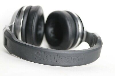 A1~Great condition~Skullcandy Hesh 2 Silver/Black Bluetooth Wireless