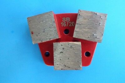 1620-3 Big Segment Soft Bond Diamond Tool-trapezoid Metal Bond-concrete Grind