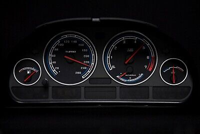 Auto & Motorrad: Teile Tachoscheibe für BMW E38-E39/E53/X5  Blaue Nova   Diesel