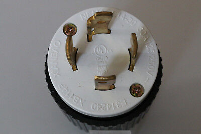 L14-30 Locking Male Generator Plug 30a 125250v L14-30p Ul Listed