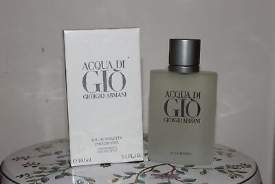 Giorgio Armani Acqua Di Gio 3.4oz EDT Men Cologne NEW in Sealed Retail Box