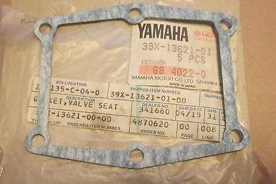 <em>YAMAHA</em> YZ250 YZ490 WR500 198493 GENUINE NOS REED BLOCK GASKET    39X