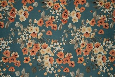 Floral Jersey Knit Print #194 Poly Rayon Spandex Lycra Fabric BTY