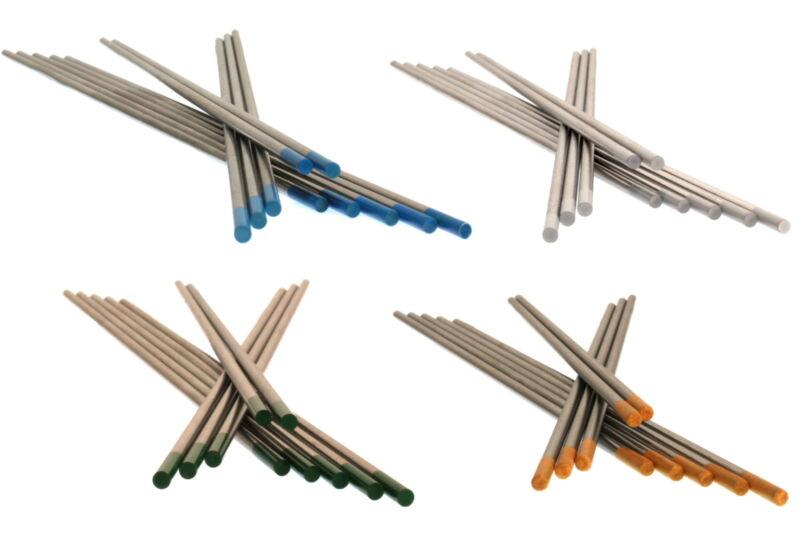 5 x 2 Wolframelektroden Rainbow Set 2,4 x 175 WIG AC//DC Schweißen Wolframnadeln
