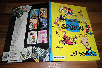 Franquin -- 4 AVENTURES de SPIROU et FANTASIO // FRENCH HC / TOP-Hardcover 2003