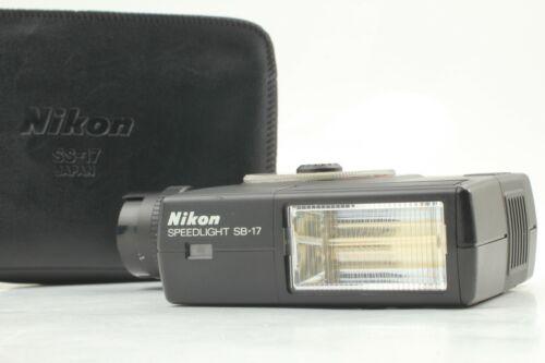 """ MINT w/ CASE "" Nikon Speedlight SB-17 Shoe Mount Flash for Nikon from Japan"