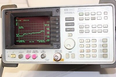 Hp 8592a 9 Khz To 22 Ghz -109 Dbm To 30 Dbm Spectrum Analyzer Tested