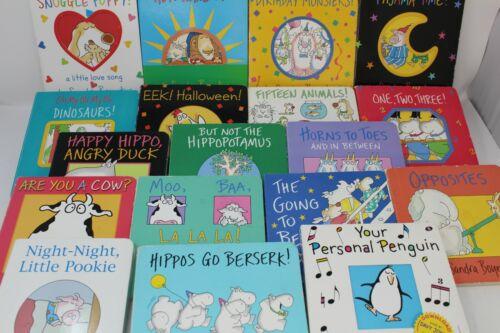 Lot of 6 of Sandra Boynton Board Books - Mixed/Unsorted