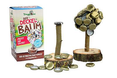Kronkorkenbaum (Männergeschenk, Trinkspiel, Bier) Der Deckelbaum / Magnetbaum V2