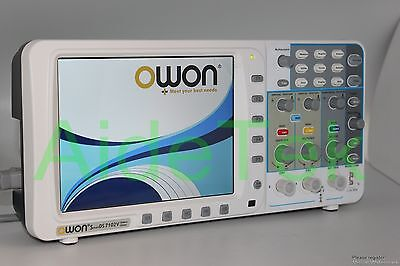Newest Low-noise Owon 100mhz Oscilloscope Sds7102v Fft Lanvga 3yrs Warranty