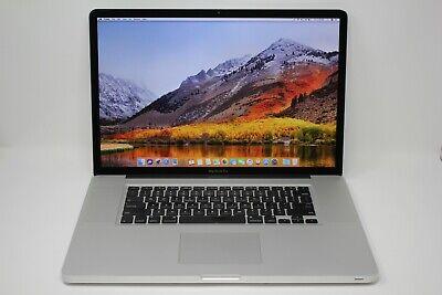 "MacBook Pro 17"" A1297 Late 2011 2.4GHZ i7/ 8GB RAM/ 1TB HDD/ Mac OSX 10.13"