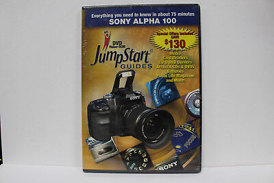 JumpStart Video Training Guide on DVD for the Sony Alpha 100 Digital Camera