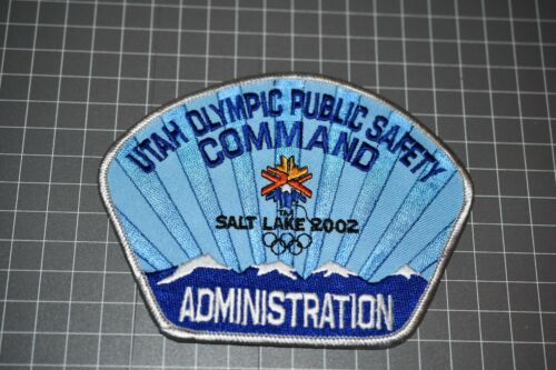 Utah Olympic Public Safety Command Administration Patch (US-Pol)
