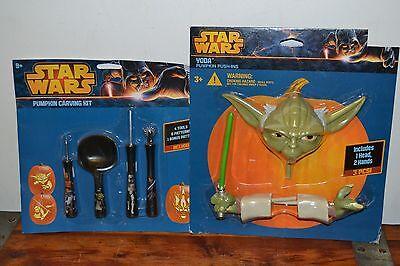 Yoda Pumpkin (NEW Halloween Pumpkin Push-Ins - Star Wars Darth YODA & Pumpkin Carving)