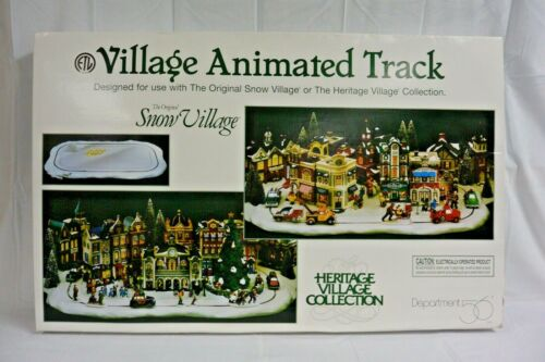 Department 56 Snow Village Series Village Animated Track #52642 NOT WORKING