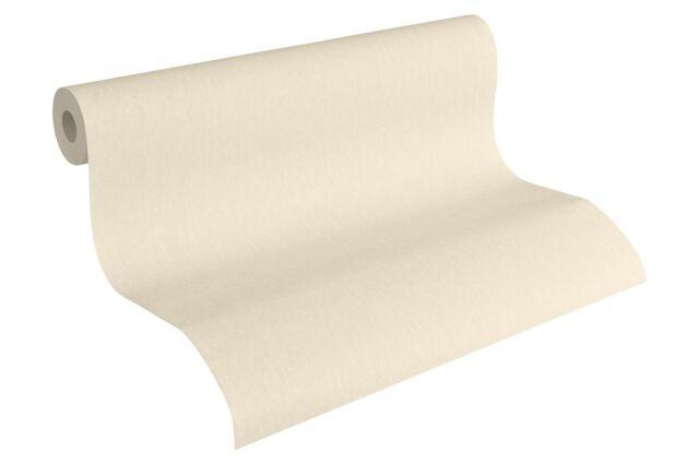 Tapete Vlies Uni Struktur creme AS Fleece Royal 96187-4 (3,14€/1qm)