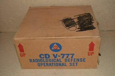 Victoreen Model 1a Cdv-715 Radiation Detector Charger - Lot Of 3 E1