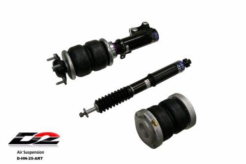 D2 Air Suspension Air Struts For 2006-2011 Honda Civic Sedan Coupe Si Fd Fa Fg