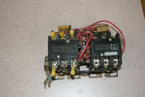 Bridgeport Sylvania 1508771 CNC Mill Motor Reversing Contactor Free Shipping!