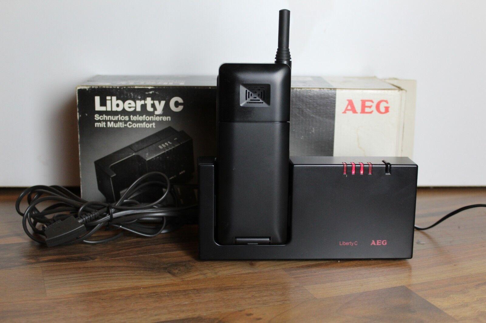 AEG LIBERTY C TELEFON RAR* Schnurlos Schnurloses Telefon