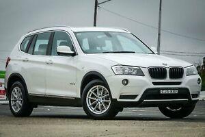 2012 BMW X3 F25 MY0412 xDrive20i Steptronic White 8 Speed Automatic Wagon Greenacre Bankstown Area Preview