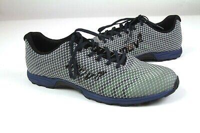 NIB Inov-8 F-Lite 195 V2 Casual Training Shoes Grey/Blue Mens Brand New sz 11