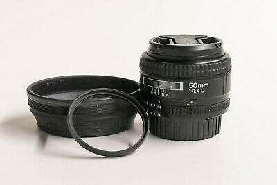 Nikon NIKKOR 50mm f/1.4 D AF Lens  ** US Model**
