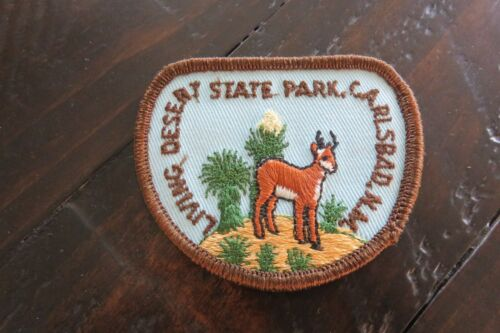 Vintage Carlsbad, New Mexico Living Desert State Park Patch Shirt Jacket Hat Cap