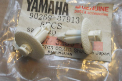 YAMAHA WJ500  WJ 500  WAVE-JAMMER GENUINE NOS SEAT TOWER RIVETS - # 90269-07913