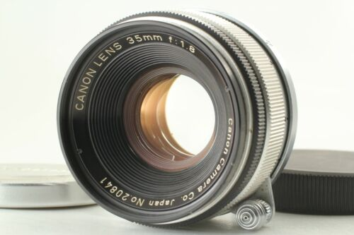 🔹Almost MINT🔹 Canon 35mm f1.8 MF Lens Leica Screw L Mount LTM L39 from Japan